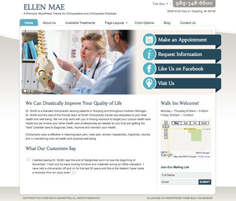 Ellen Mae in Blue