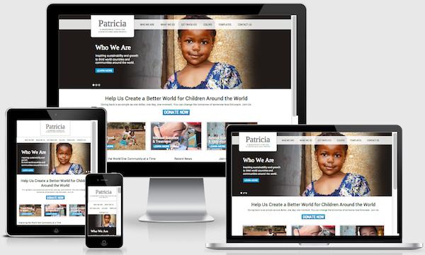 Image result for non profit website design
