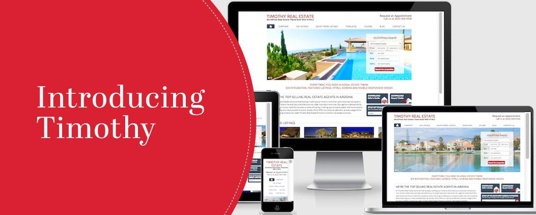 Introducing Timothy: An IDX, HTML5 WordPress Real Estate Template