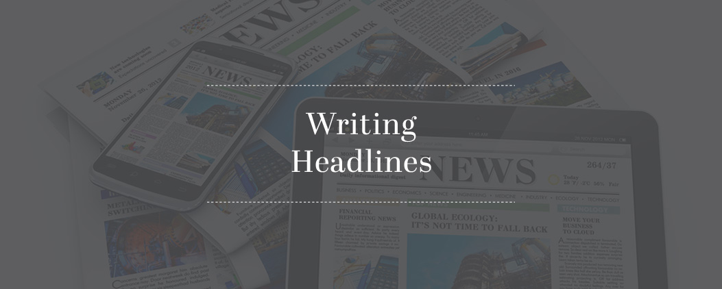 Writing-Headlines