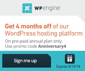 WP Engine Free WordPress Hosting Offer