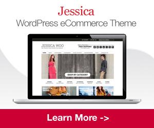 Ad Unit for Jessica WordPress e-Commerce Theme