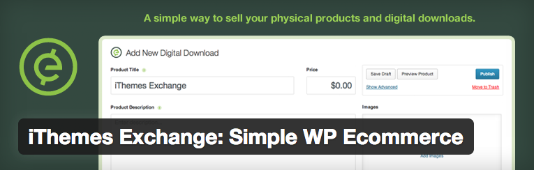iThemes Exchange Simple WP Ecommerce