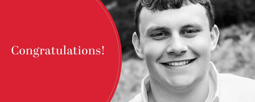Congratulations Emmett Helsel!