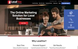 LocalVox Website Design Project