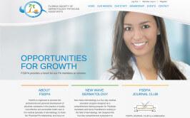 FSDPA Website Design