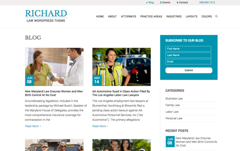 Richard-Blog-Page
