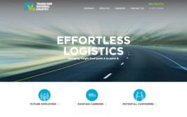 TransCorr National Logistics Website Refresh