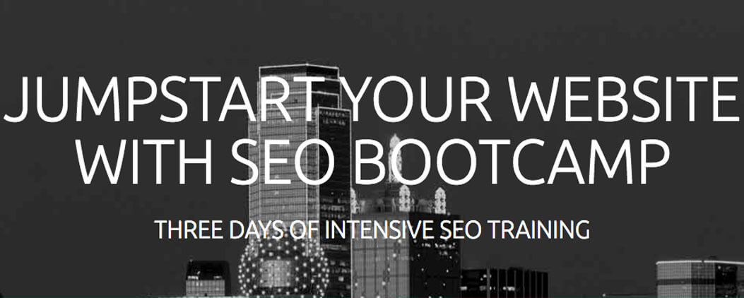 Jumpstart Your Website With SEO Bootcamp