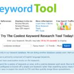 SEO Book Keyword Tool