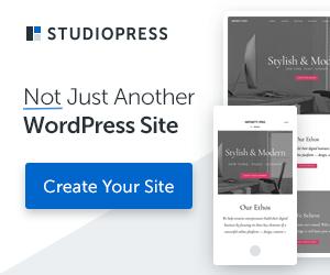 StudioPress Sites Ad
