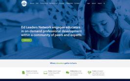 Ed Leaders Network Website Design